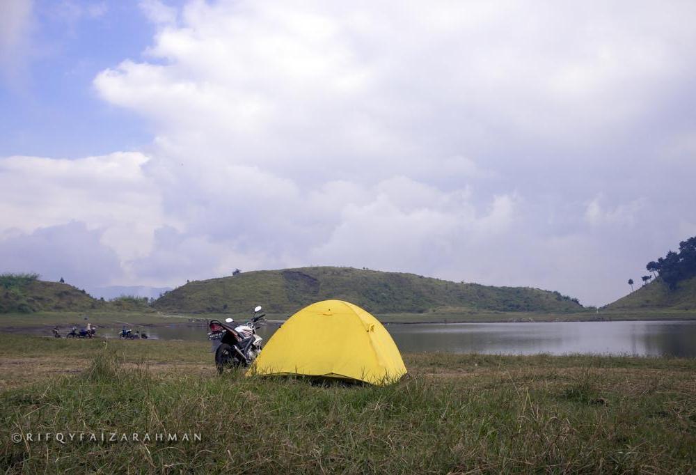 Tenda kami di Telaga Dringo