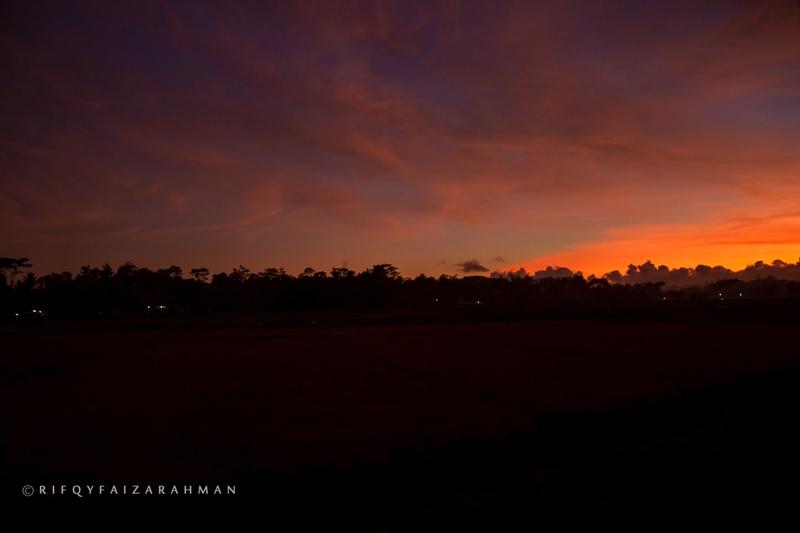 Senja di langit Kepanjen
