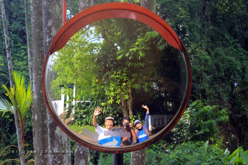 Cermin di Kebun Raya Bogor