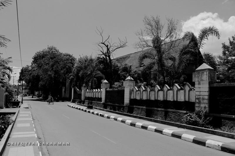 Sisi luar Istana Tamalate