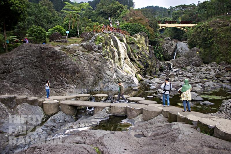 Salah satu sudut di dalam kawasan wisata Baturraden