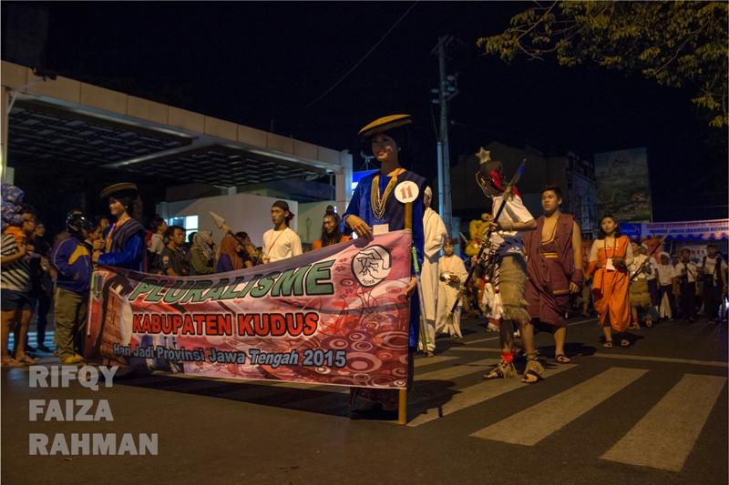 Peserta parade dari Kabupaten Kudus
