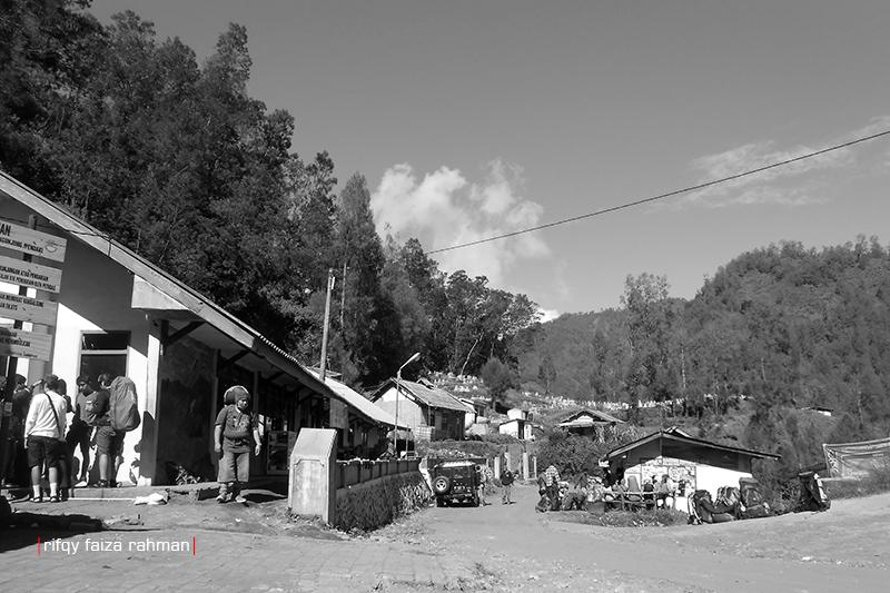 Ranu Pani, titik awal pendakian ke Ranu Kumbolo-Semeru