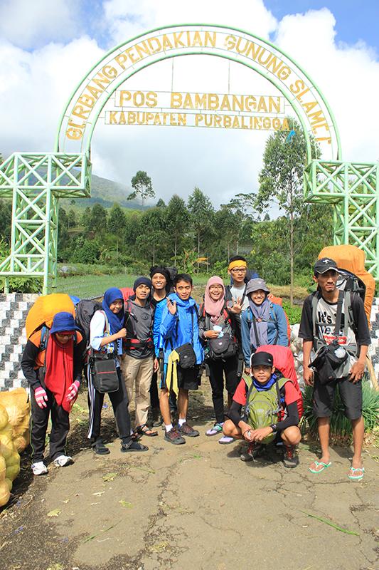 Pendakian Gunung Slamet Jawa Tengah