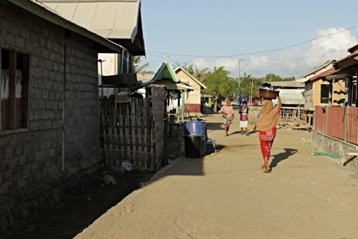 Suasana kampung Pototano, Sumbawa Barat