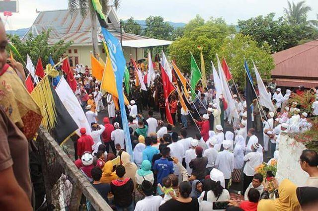 Panji Nyili-nyili, prosesi budaya sebagai simbol memperingati perjuangan Sultan Nuku pada masa Revolusi Tidore (Sumber foto: Visit Tidore Island)