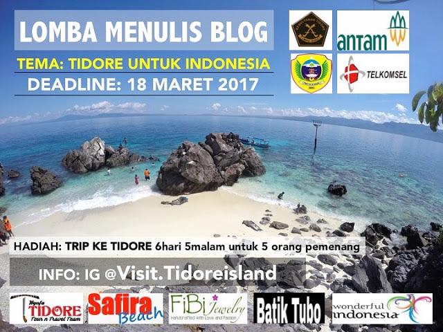 """Tulisan ini diikutkan dalam lomba blog Visit Tidore Island bertema """"Tidore Untuk Indonesia"""""""