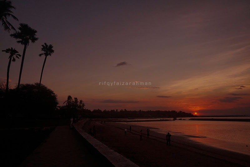 Sunset Pantai Lasiana