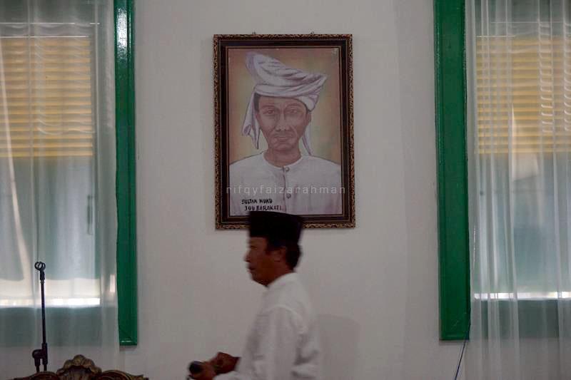 Potret Sultan Nuku, pahlawan Revolusi Tidore, di dalam Kadato Kie
