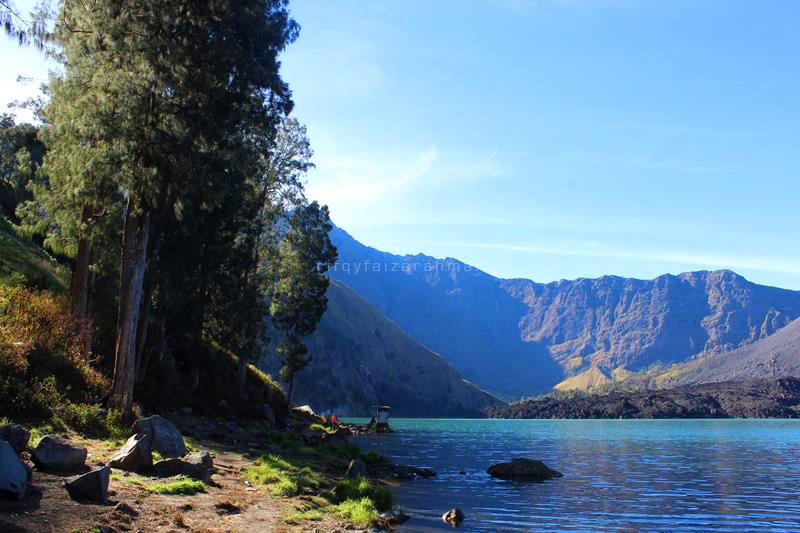 Danau Segara Anak, Gunung Rinjani