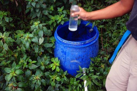 Air adalah salah satu nilai plus jalur pendakian Suwanting. Dibandingkan jalur Selo yang tidak ada air.