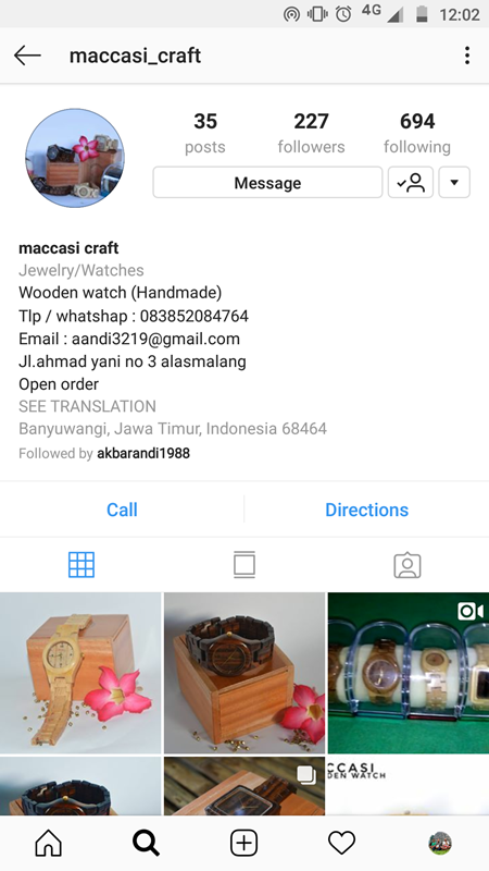 Instagram @maccasi_craft