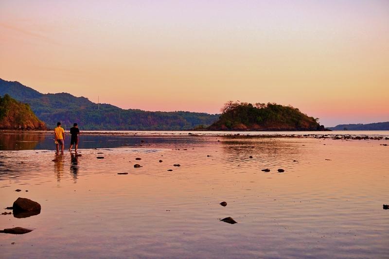 Sunset Pulau Bawean
