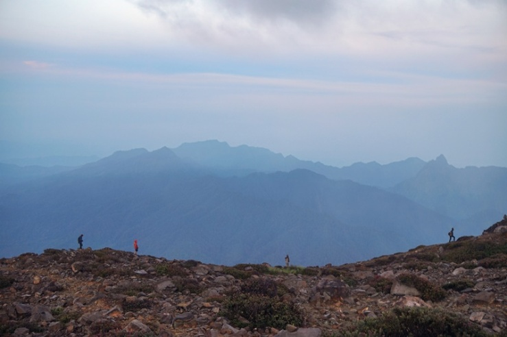 Pemandangan dari puncak Gunung Welirang