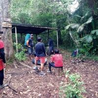 [Foto] Gapura Gaib Lawu via Singolangu